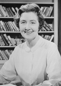 Margaret (Peggy) Hodges, a Pitt library science professor and creative writer who curated the Nesbitt Collection